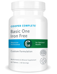 Basic One Iron Free Product From Cooper Complete