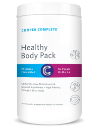 Healthy Body Pack Product From Cooper Complete