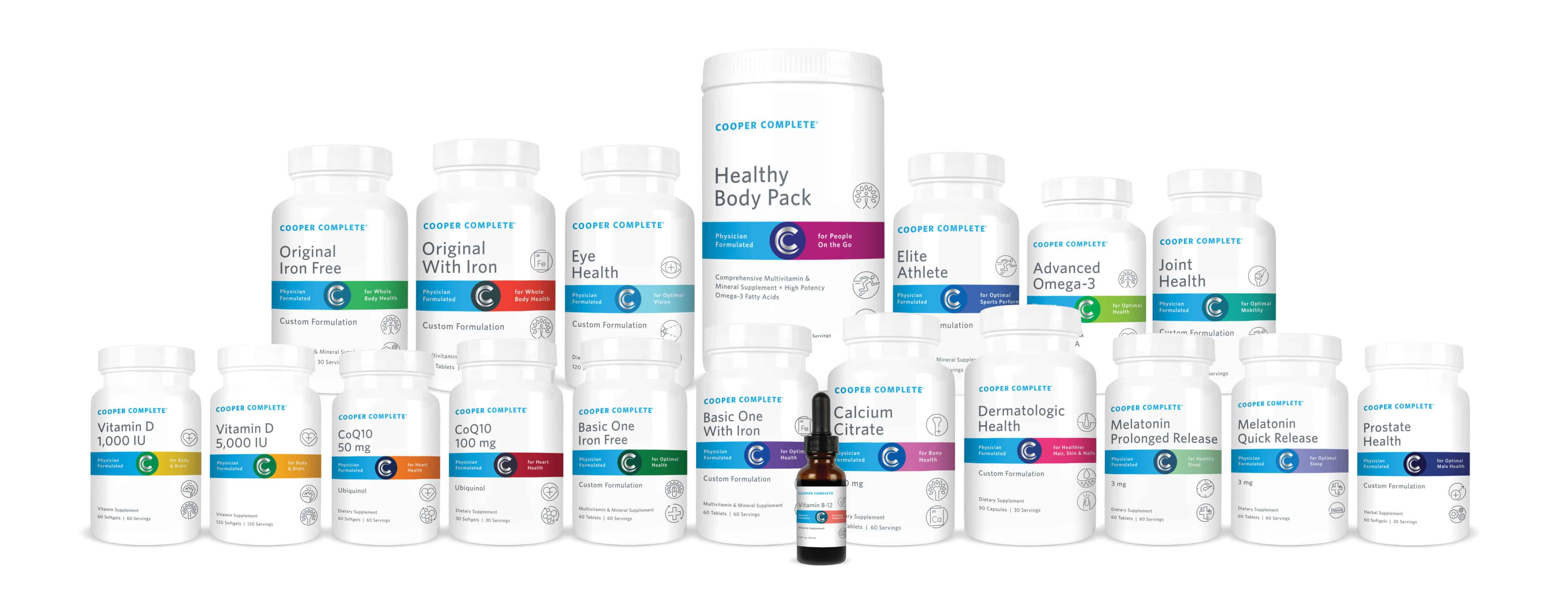 Photo of Cooper Complete bottles - Click here to Buy Cooper Complete Supplements