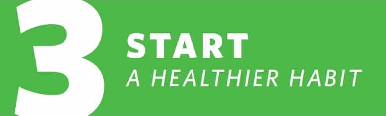 Graphic of Cooper Complete auto delivery subscription program that reads Step 3 Start A Healthier Habit