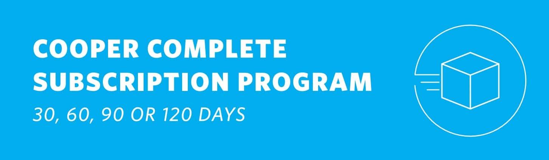 Cooper Complete Vitamin Subscription Program