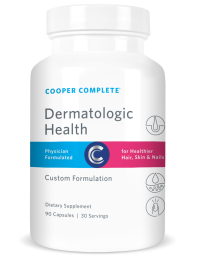 Picture of Cooper Complete Dermatologic Health Product, Cooper Clinic skin hair and nails Vitamin