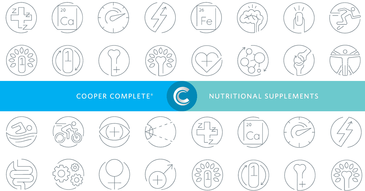Cooper Complete® vitamins and nutritional supplements provide the body with key nutrients, supported by research