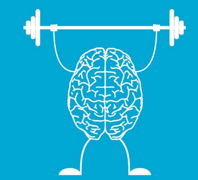 Brain improving health by exercise
