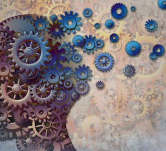 Brain health affected by dementia visualization