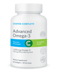 Cooper Complete Advanced Omega-3 Bottle