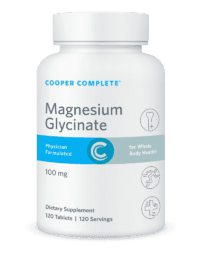 Cooper Complete Magnesium Glycinate Bottle