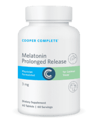 Cooper Complete Melatonin Prolonged Release Bottle