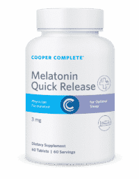 Cooper Complete Melatonin Quick Release Bottle