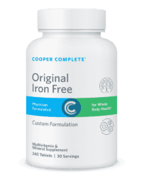 Cooper Complete Original Iron Free Bottle