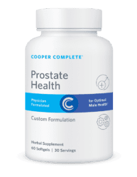 Cooper Complete Prostate Health Bottle