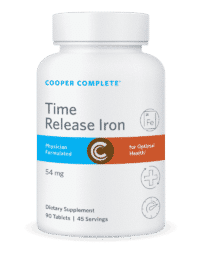 Cooper Complete Time Release Iron Bottle