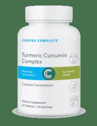 Cooper Complete Turmeric Curcumin Complex Bottle