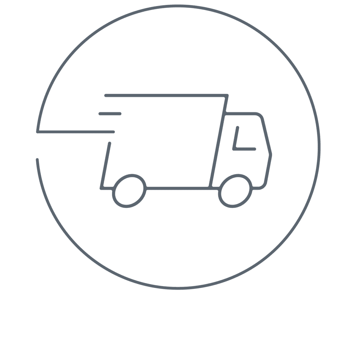 Cooper Complete Nutritional Supplements truck icon representing shipping promotion