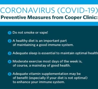 Cooper Complete vitamin supplementation can help fortify your diet