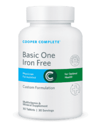 Cooper Complete Basie One Iron Free 30-count Bottle